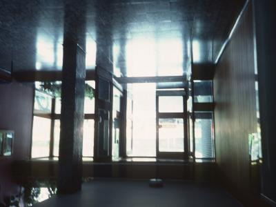 Lift lobby in Seaward Tower