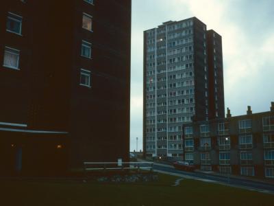 View of 16-storey blocks on Ker Street
