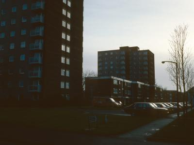 View of Grenville Court and Rodney Court