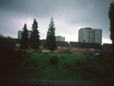 View of 15-storey blocks on Wensley Road