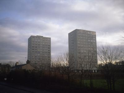View of Craigmillar Court and Peffermill Court