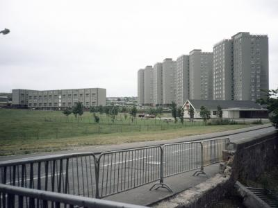 View of Moredun Temporary Housing Area, Phase II