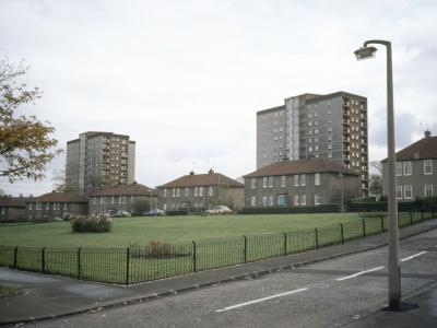 View of Restalrig House and Lochend House