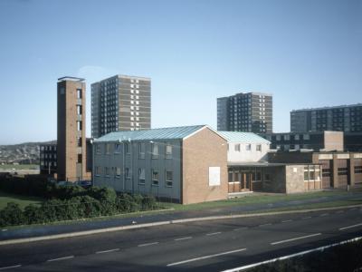View of Sighthill Neighbourhood Centre