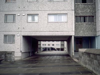 View of underpass in Wester Hailes Contract 4