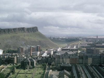 View of Dumbiedykes development from above