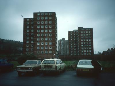 View of Matthew Street blocks