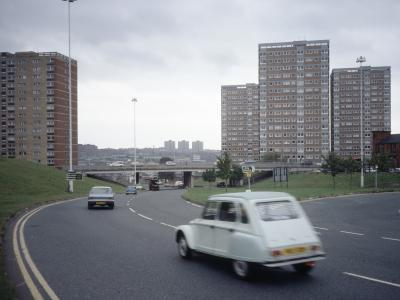 View of Lovell Park development (right of picture)