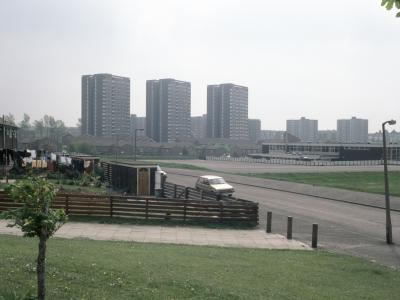 View of Ebor Gardens development from the east