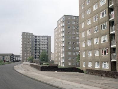 View of Ebor Gardens development from Oxton Way