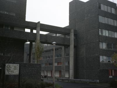 View of entrance to Leek Street development