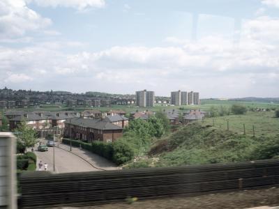 View of Halton Moor development