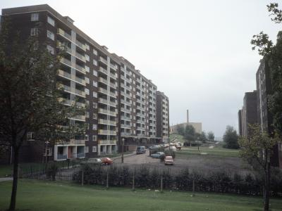 View of a block on the Saxton Gardens development