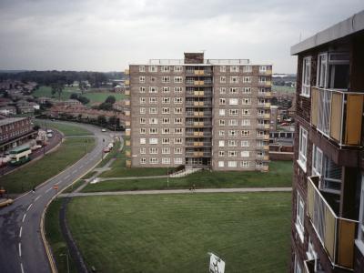 View of Seacroft Gate Block 2 from Seacroft Gate Block 1