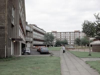 View of Hahnemann Street/Carley Hill Road development