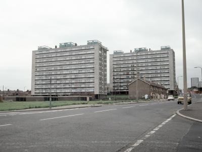 View of Borough Court and Sussex Court