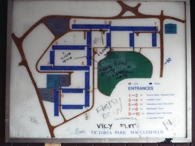 Map of Victoria Park development
