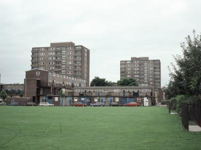 View of Thackery Towers and Rowlands Heights