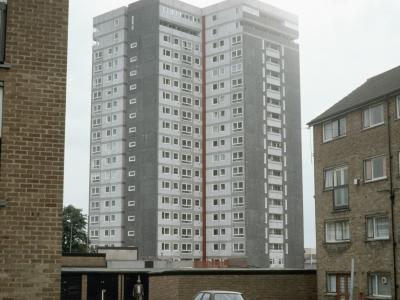View of one of Sandown Court blocks