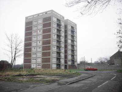 View of Low Cross Court from the northwest on Chapel Street