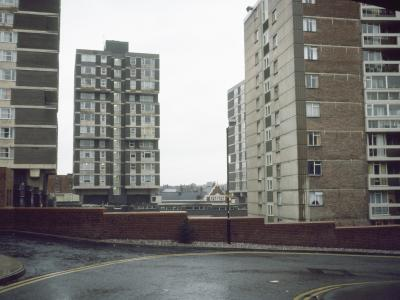View of back of Lower Kirkgate development